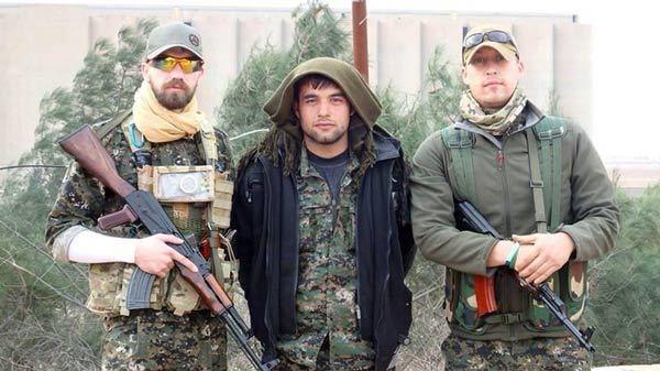 عکس روز/ غربی هایی که برای کُردها بر ضد داعش می جنگند
