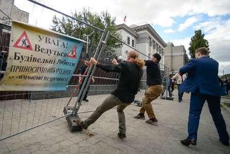 حمله به رای دهندگان روسی در اوکراین