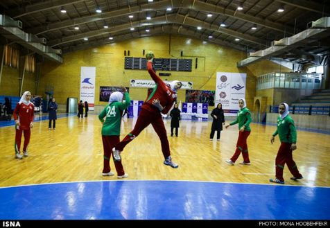 ششمی دختران هندبالیست ایران تا سومین روز مسابقههای قهرمانی آسیا