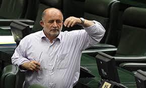 درگیری قاضی پور با یک خبرنگار پارلمانی