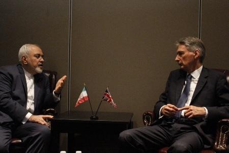 دعوت وزیر خارجه انگلیس از ظریف