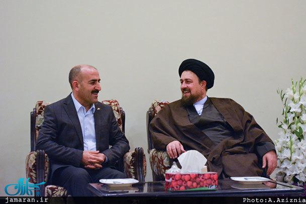 رئیس کتابخانه ملی ترکیه با سید حسن خمینی دیدار کرد