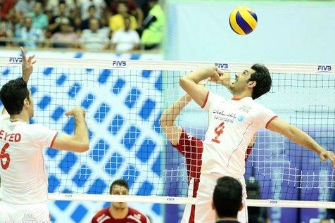 قرعه کشی مسابقات والیبال قهرمانی آسیا در تهران برگزار می شود
