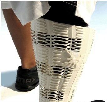 طراحی پوست چاپی برای اندام پروتزی