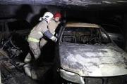 آتش سوزی پارکینگ مجتمع مسکونی در تهران 30 نجات یافته داشت