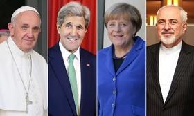 پیش بینی نامزدهای احتمالی صلح نوبل 2015/ از ظریف و کری تا مرکل و پاپ