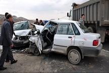 2سانحه رانندگی در بوشهر 4 کشته و مصدوم داشت