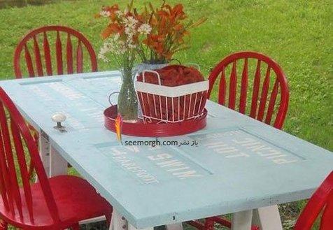 به سلیقه خودتان میز ناهارخوری بسازید