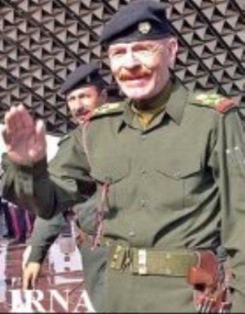 عزت الدوری معاون صدام  کشته شد