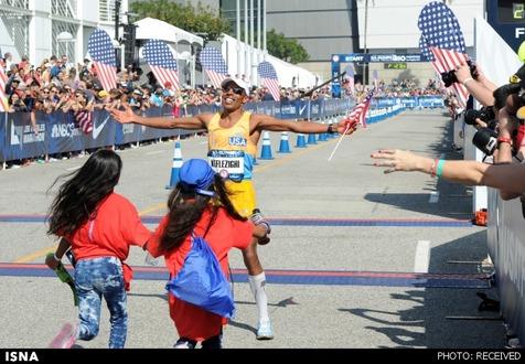 دونده ماراتن ۴۰ ساله آمریکایی در المپیک ریو شرکت میکند