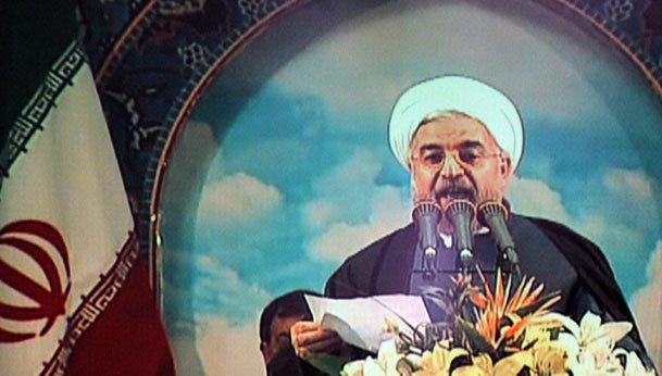 حسن روحانی با مردم اهواز  به زبان عربی سخن گفت