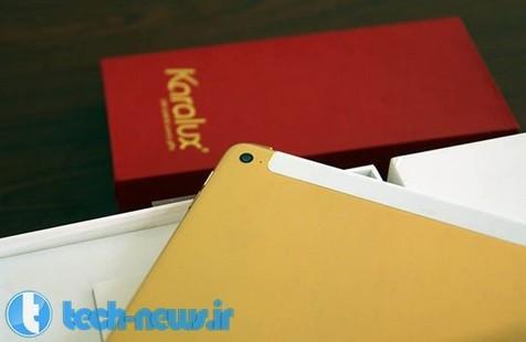 آیپد ایر ۲ با پوشش طلایی