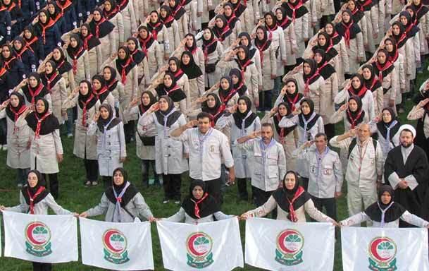 برنامه های سازمان جوانان جمعیت هلال احمر به مناسبت بزرگداشت امام خمینی(س)