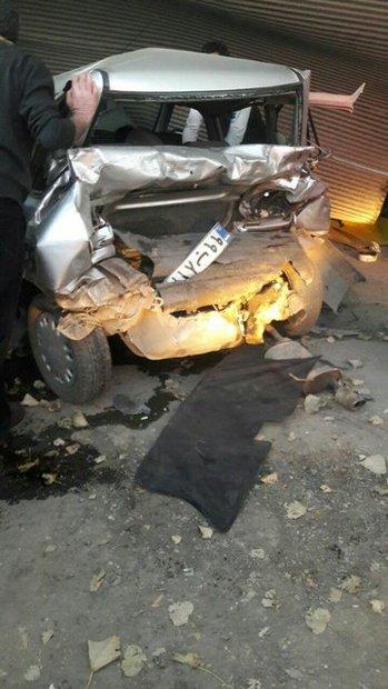 برخورد مرگبار 2 خودرو در قائمشهر