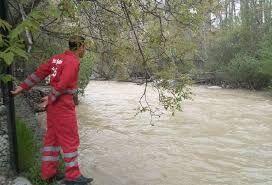 رودخانه خروشان دامدار رودسری  را به  کام خود کشید