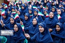 زنگ استکبارستیزی در مدارس سیستان و بلوچستان نواخته شد