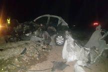 تصادف تریلر و 206 در البرز 2 کشته بر جا گذاشت