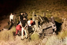 سه کشته بر اثر واژگونی خودرو در نیشابور