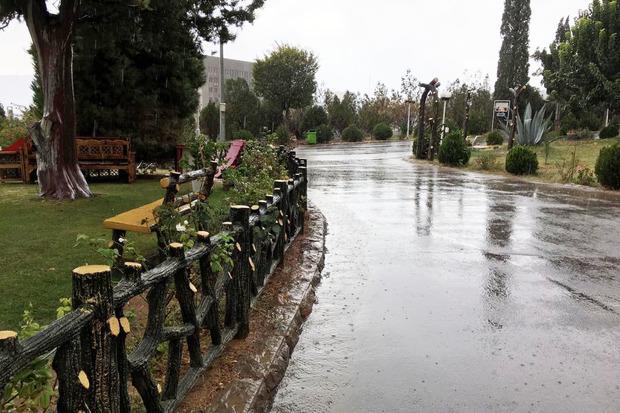 شدت باران در خراسان رضوی کاهش یافت