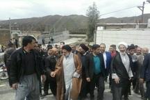 نماینده ولیفقیه در لرستان از مناطق سیلزده معمولان بازدید کرد