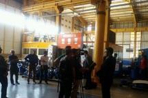 خبرنگاران خارجی از شهرک صنعتی شمس آباد ری بازدید کردند