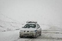 تردد در برخی راههای خراسان شمالی بدون زنجیرچرخ ممکن نیست