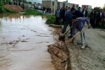 سیل به 18 روستای نقده خسارت زد