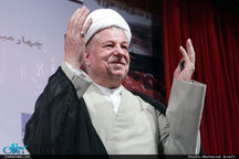 مراسم هفتمین روز رحلت آیت الله هاشمی رفسنجانی آغاز شد/ ورود رییس جمهور و جمعی از اعضای دولت به حرم حضرت امام