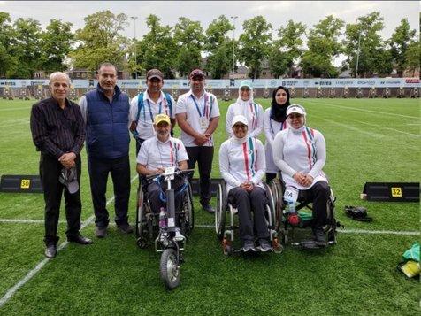 میکس تیم ریکرو ایران رکورد جهان را زد