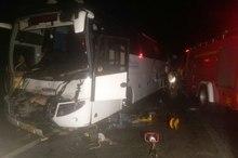 سانحه رانندگی در سبزوار یک کشته و 48 مصدوم داشت