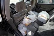 خودروی حامل 11 کیلو تریاک در قزوین شناسایی و توقیف شد