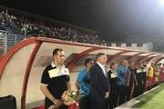 آب رفتن هواداران نساجی در آخرین بازی لیگ برتر