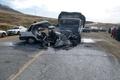 مرگ 3 نفر در تصادف محور همدان-رزن