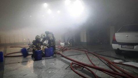یک زن و ۲ کودک از آتش سوزی خیابان ابوذر نجات یافتند