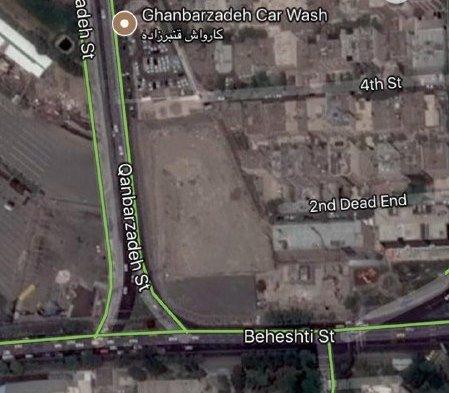 هشدار تندگویان در مورد گود 30متری در خیابان بهشتی+عکس
