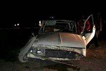 واژگونی وانت در جاده سنندج - مریوان یک کشته بر جا گذاشت