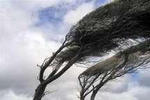 وزش باد در همدان به 45 کیلومتر بر ساعت رسید