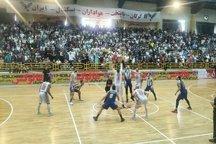 فینال بسکتبال ایران  شهرداری گرگان مغلوب نفت آبادان شد