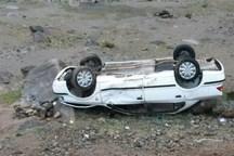 واژگونی خودرو در مهریز 6 زخمی برجا گذاشت