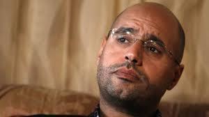 پسرقذافی به اعدام با گلوله محکوم شد