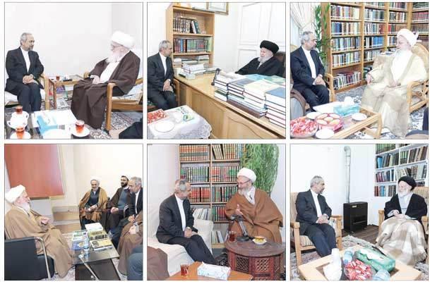 تقدیر مراجع تقلید از عملکرد دولت و تاکید بر اهتمام مسئولین برای رفع مشکلات معیشتی مردم