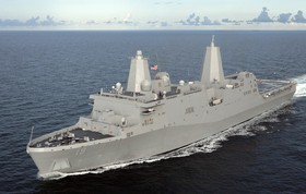 ورود ناو آمریکایی با 550 تفنگدار دریایی به خلیج فارس