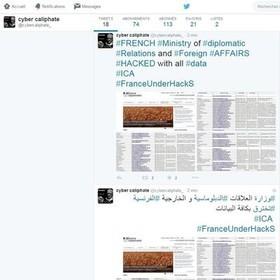 حمله سایبری هکرهای داعش به سه وزارتخانه دولت فرانسه