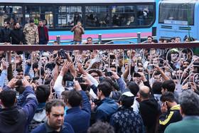 حضور هواداران اولادی در بیمارستان شهدای تجریش+عکس
