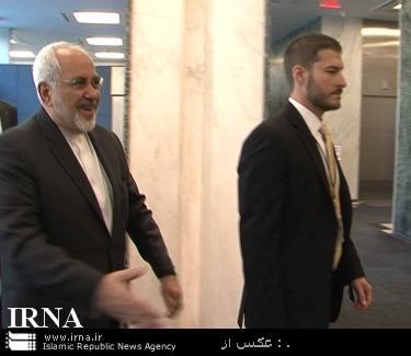 دیدار غیر علنی وزیر خارجه ایران با معاون دبیر کل سازمان ملل