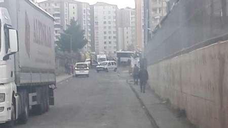 انفجار در نزدیکی ترمینال دیاربکر ترکیه