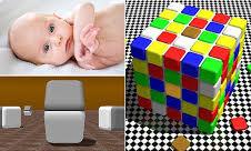 قدرت فوق العاده بینایی نوزادان تا پنج ماهگی