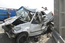 تصادف در جاده یاسوج- اصفهان یک کشته و 6مصدوم برجا گذاشت