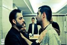 جلوی اکران فیلم متری شش و نیم در شیراز گرفته شد