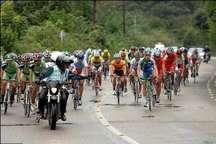 تیم دوچرخه سواری پیشکسوتان هرمزگان برسکوی قهرمانی قرار گرفت
